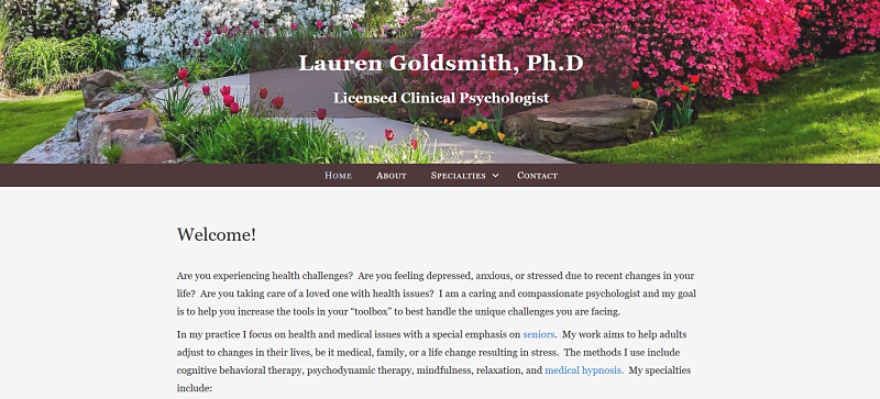 Lauren Goldsmith website